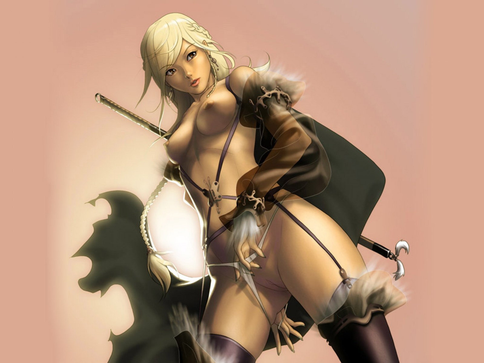 Erotic fantasy art anime nude videos